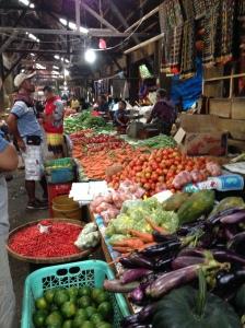 Underground market.