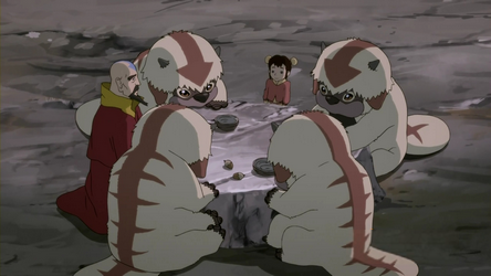 Tenzin_and_Ikki_having_breakfast